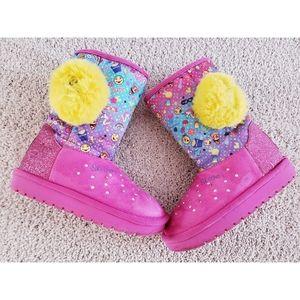 Skechers twinkle toes emoji boots